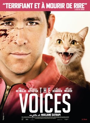 The voices.
