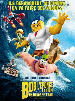 Bob l'éponge - le film : Un héros sort de l'eau.