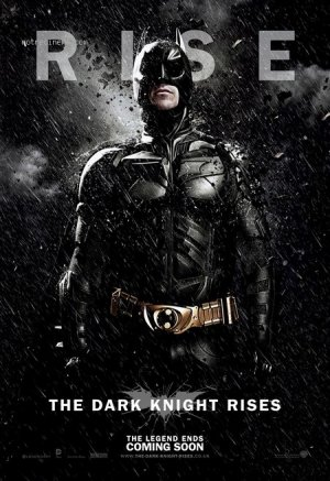 The dark knight rises.