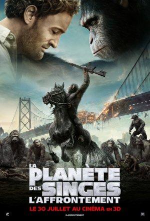La planète des singes :  l'affrontement.