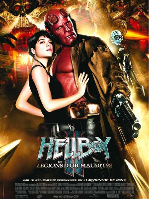 Hellboy II : Les légions d'or.