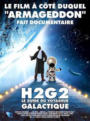 H2G2 :   Le guide du voyageur galactique.