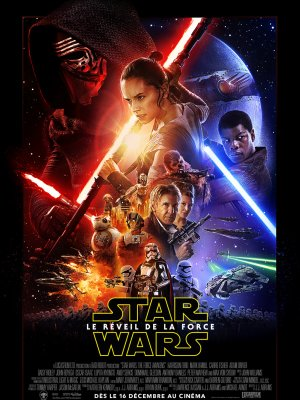 Star Wars : Le réveil de la force.