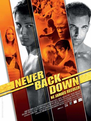Never back down.