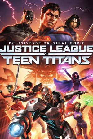 Justice league vs Teen Titans.