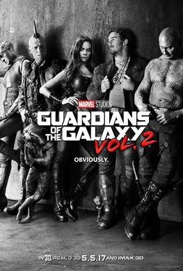 Les gardiens de la galaxie 2.