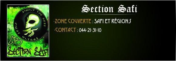 Réunion Adhétion GB ( section Safi )