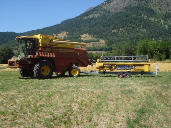 Moisson 2010 >>> New Holland <<<