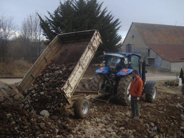 Transport de pierres 2011 >>> Mecalac <<<