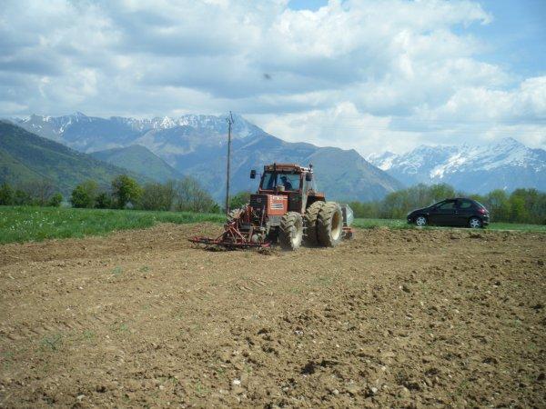 Reprise des labours 2011 >>> Fiat avec Rau et Cochet <<<