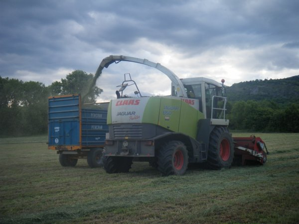 Ensilage 2011 >>> Claas et New Holland avec Rolland <<<