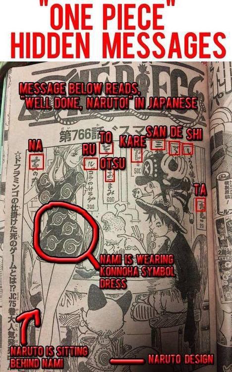 [NARUTO/ONE PIECE] Les Messages cachés d'Eiichiro Oda et Masashi Kishimoto ! (/!\ SPOIL)