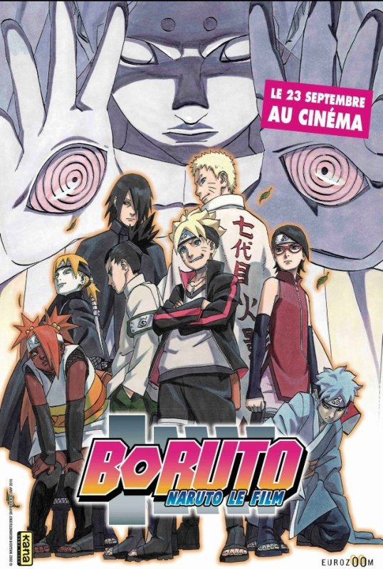 Boruto le film, date officielle