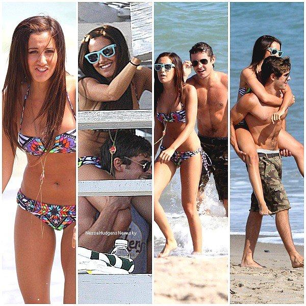 . COUP DE COEUR . Happy Birthday Ashley Tisdale ! . . . Comme nous n'avons plus de news de Vanessa Hudgens en ce moment, j'ai vous laisse découvrir de magnifiques photos de Zac Efron et Ashley Tisdale sur la plage de Malibu. La jeune femme a maintenant 26 ans. Les deux meilleurs amis se sont (très) bien amusé ! Ne sont-ils pas mignon tout les deux?  . .