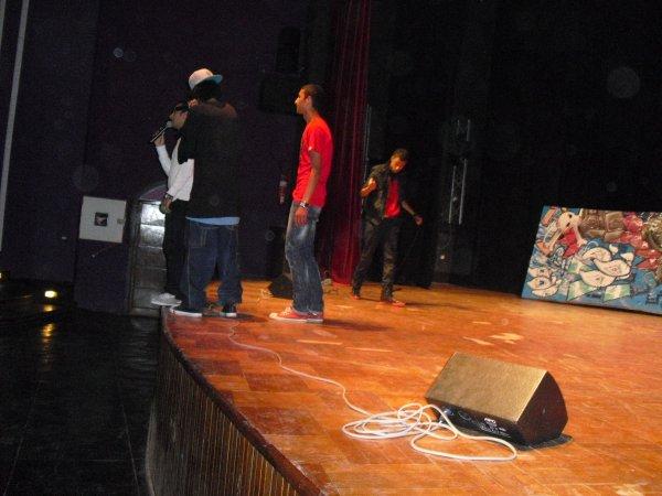 M.Boss sur scène ;)