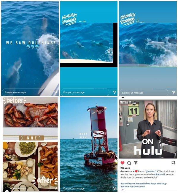 Du 2 au 15 Juin 2021, Danielle a posté sur son Instagram
