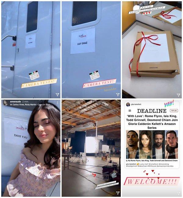 Du 3 au 13 Juin 2021, Emeraude a posté sur son Instagram