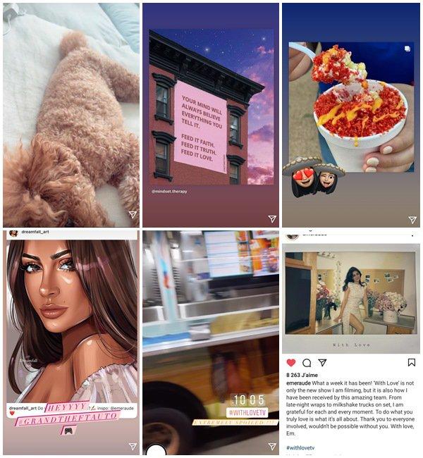 Du 14 au 20 Juin 2021, Emeraude a posté sur son Instagram