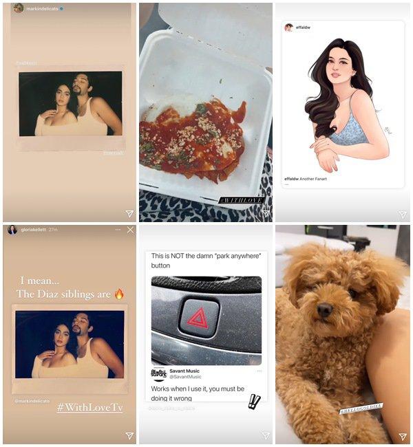 Du 5 au 11 Juillet 2021, Emeraude a posté sur son Instagram