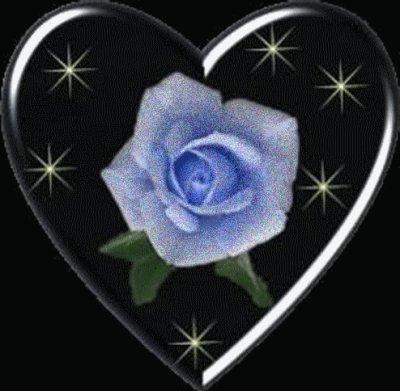 une fleur qui brille pour les blog