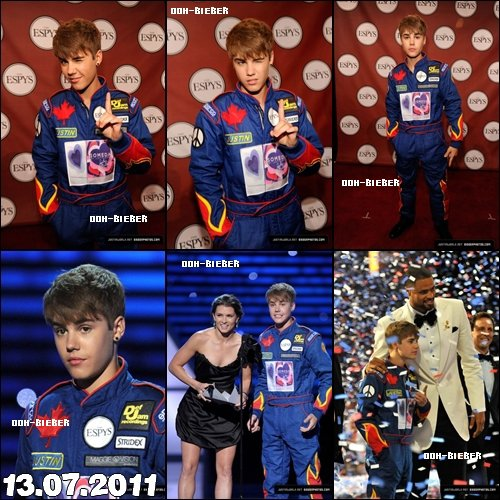 Justin au ESPY Awards 2011 Ton blog source sur Ryan Beatty ! ♥  Rejoint mon groupe ♥ Newsletter ♥ Devenir fan