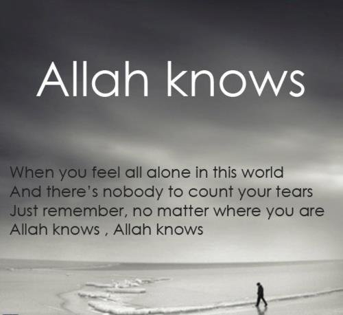 Allah knows ..