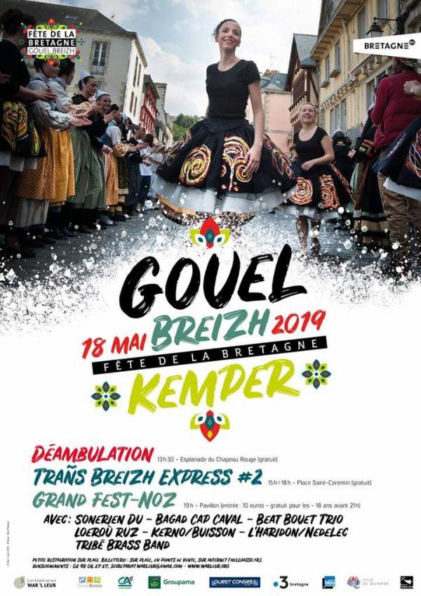 Sortie du 18 mai à Quimper