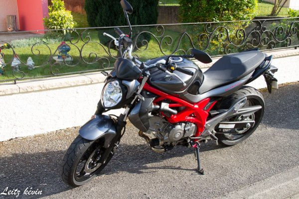 Un rêve , la moto