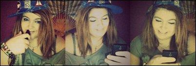 On a tous le sourire aux lèvres quand on reçoit un message de la personne qu'on aime.. ♥