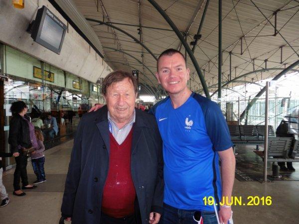 Moi Avec Guy Roux