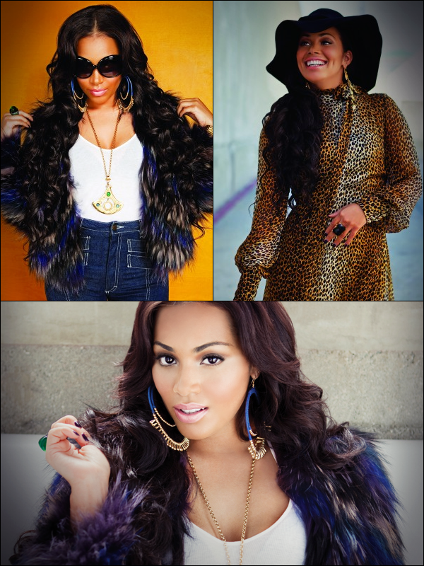 Photoshoot : Lauren London for Rolling Out