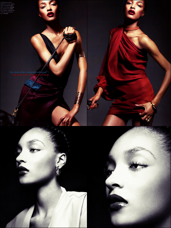 Photoshoot : Jourdan Dunn by Liz Collins for Numéro #124