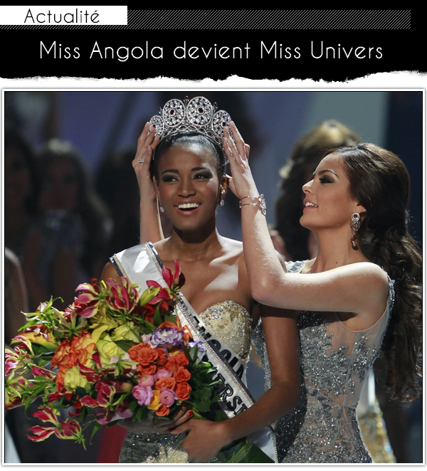Miss Angola est la plus belle femme de l'univers 