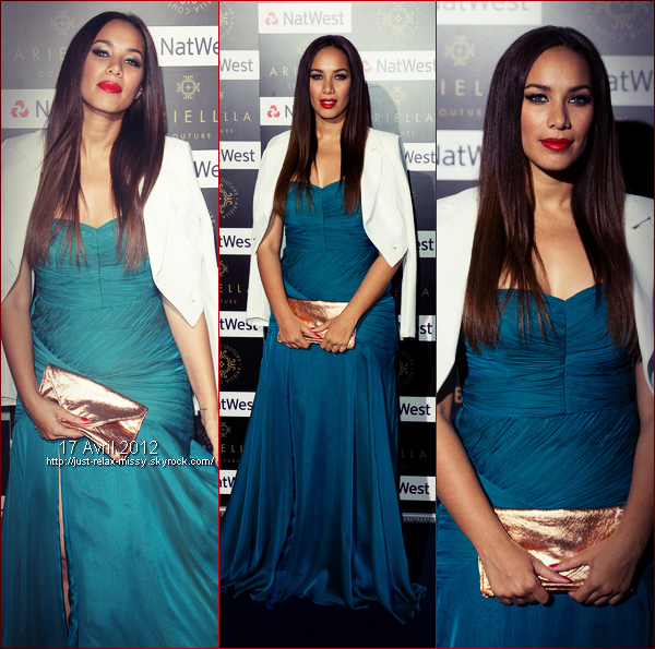 Leona Lewis attends the Ariella Couture fashion