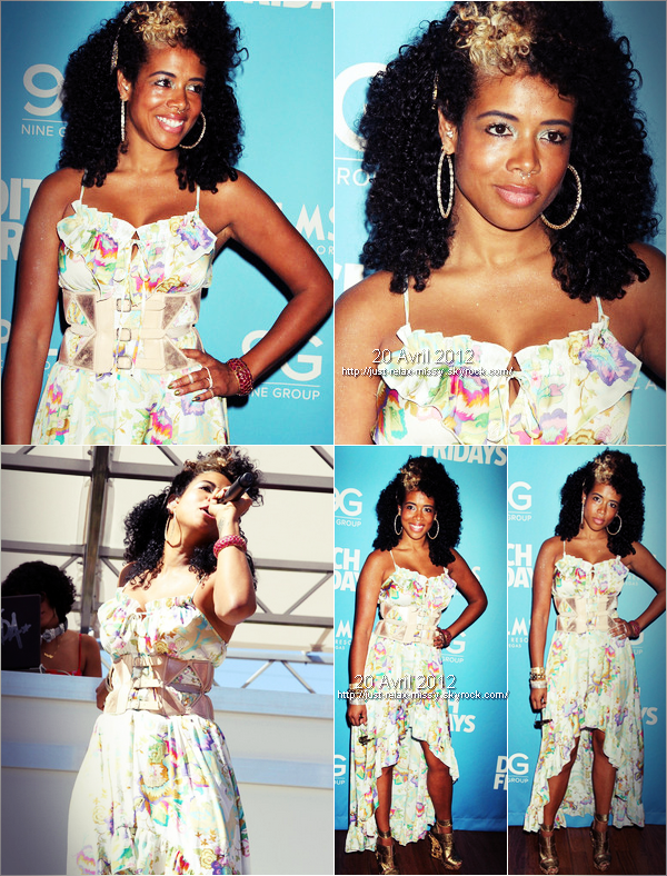 Kelis at the Palms Pool & Bungalow in Vegas