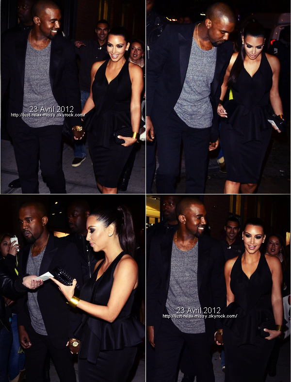 Kim Kardashian et Kanye West officialisent leur relation‎