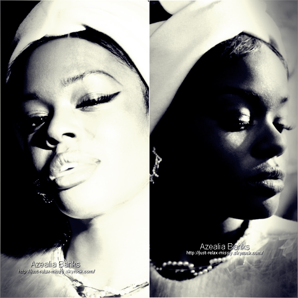 Azealia Banks is feautred in Dossier Journal #9