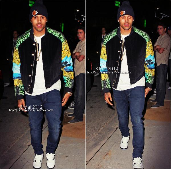 "Chris Brown / le live de ""Turn Up The Music"