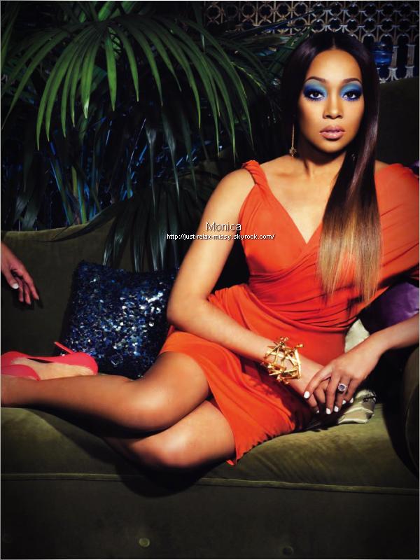 Brandy & Monica : Ebony Magazine