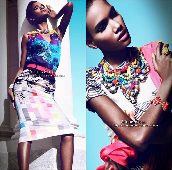 Arlenis Sosa – Harper's Bazaar Mexico May 2012