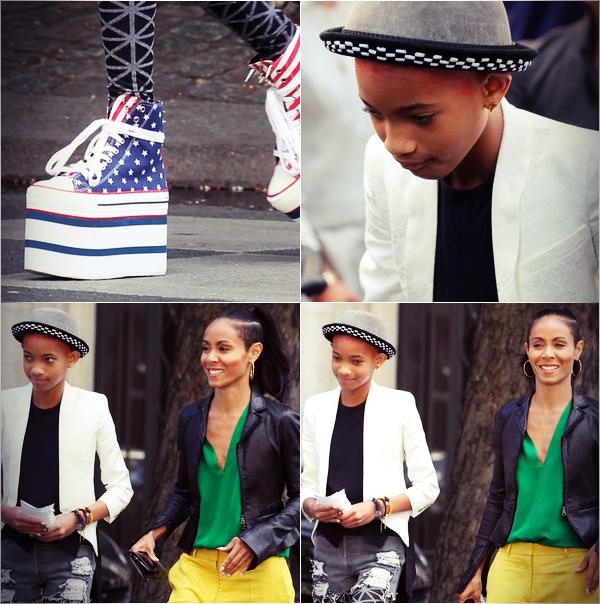 Jada & Willow Shopping In Paris
