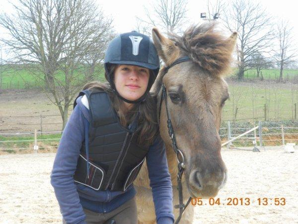 Camille et son nikito !!! <3