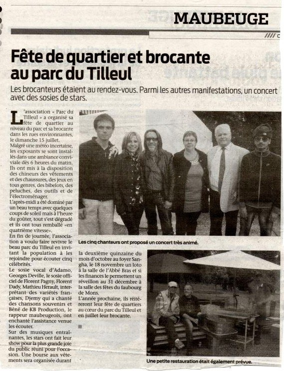 ARTICLE SUR LE JOURNAL !!
