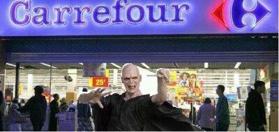 Voldemort à carrefour