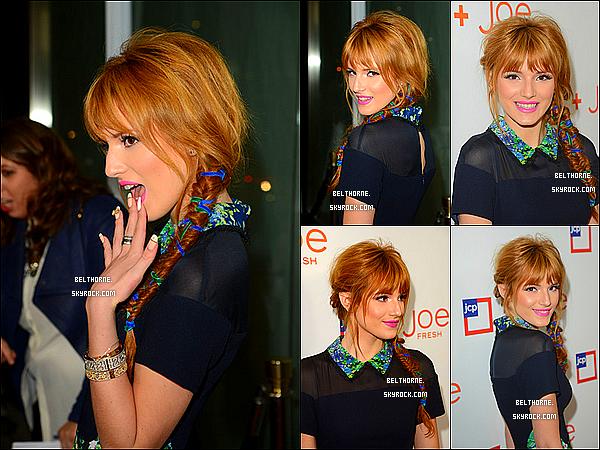 """. 07/03/2013 : Bella était présente à l'inauguration de la boutique """"Joe Fresh."""" ."""