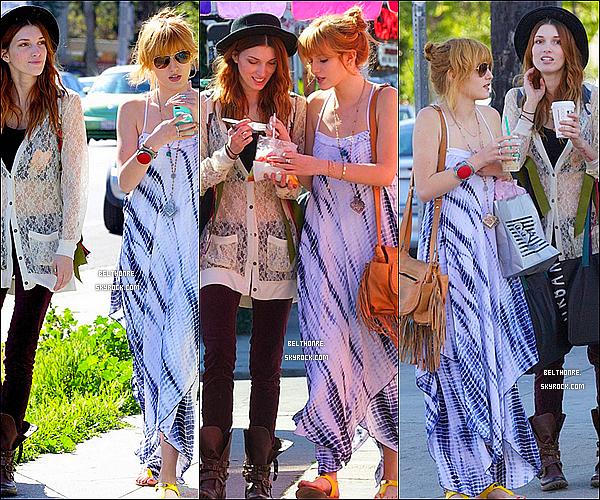 . 09/03/2013 : Bella & sa soeur faisant du shopping. Je dirais un flop pour Bella.. et vous? .