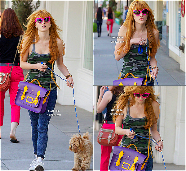. 22/03/2013 : Bella allant chez le coiffeur. .