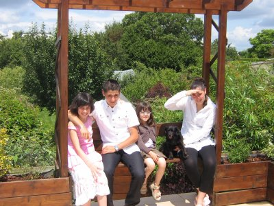 Mes cousines, mon frère et moi