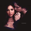 Elena Gilbert and Damon Salvatore