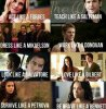 TVD caracter